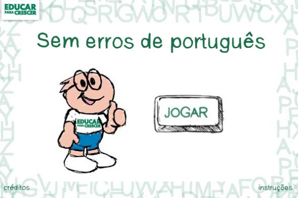 O JOGO DOS ERROS DE PORTUGUÊS